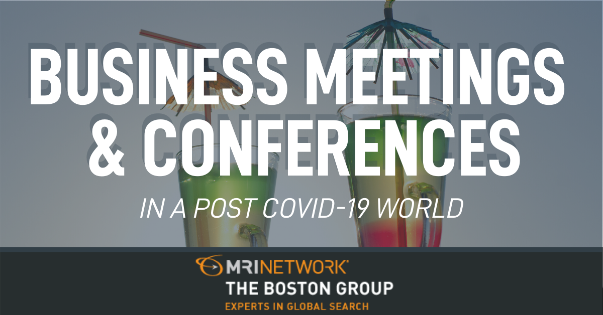 What Will Become of Business Meetings and Conferences in the Post-Covid World?