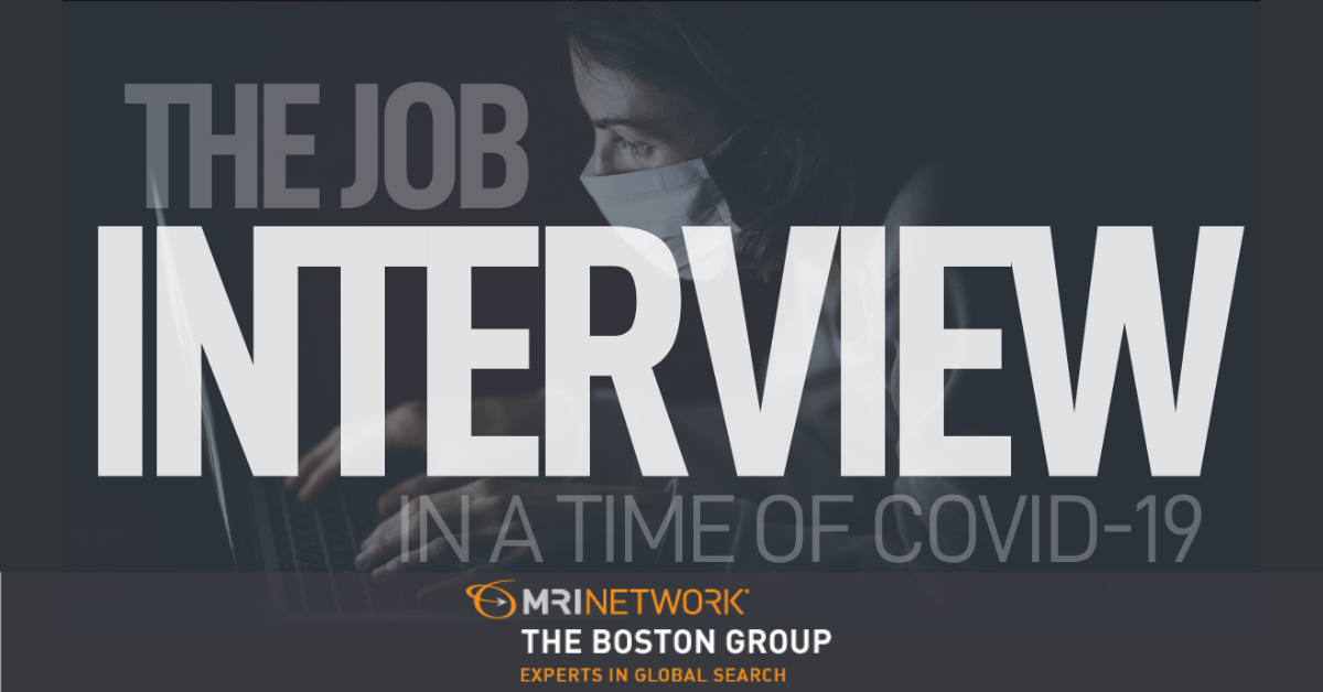 The Job Interview in a Time of COVID-19