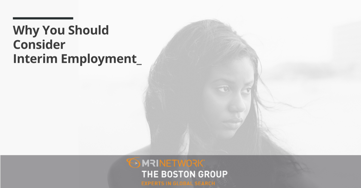 Why You Should Consider Interim Employment