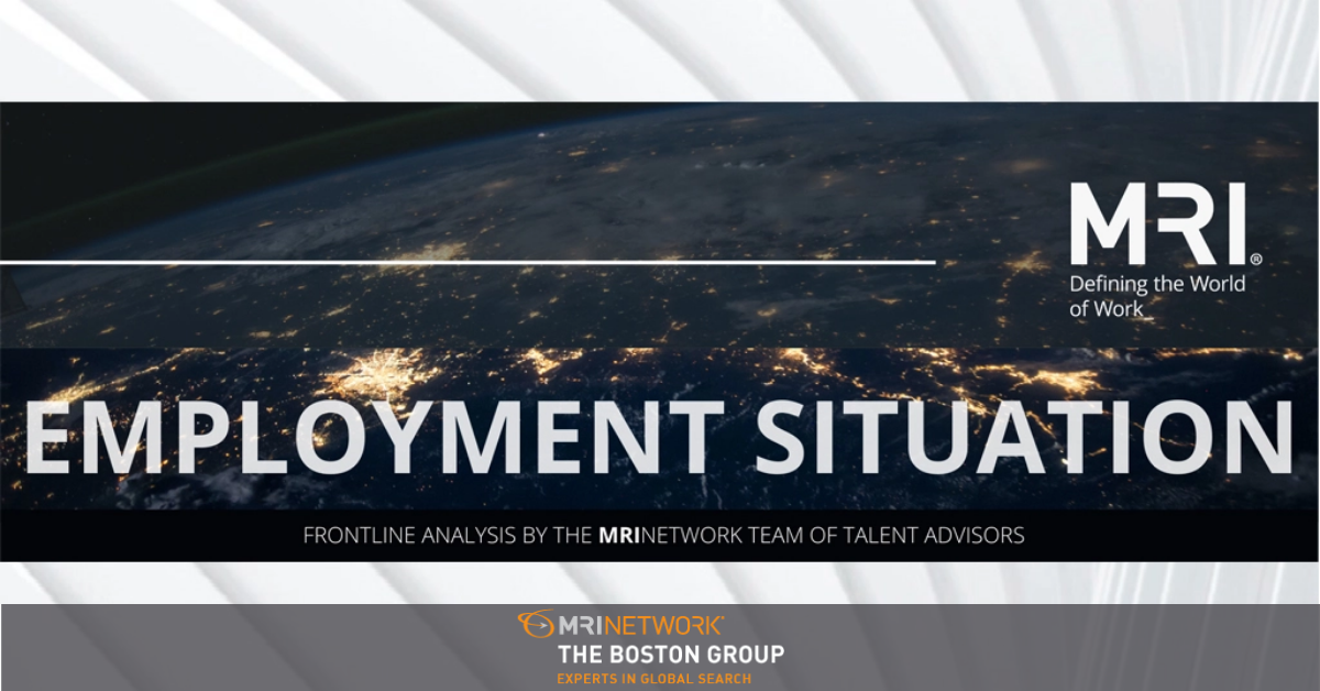 BLS Employment Situation Report: December 2020